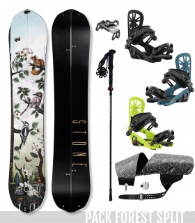 PACK FOREST SPLIT - STONE SNOWBOARDS