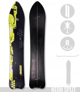 NEON SPLIT - STONE SNOWBOARDS