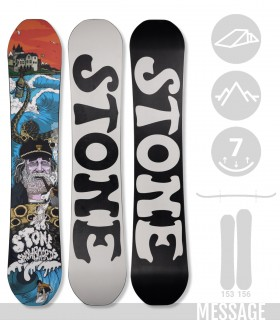 MESSAGE - STONE SNOWBOARDS